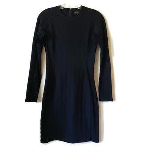 Rag& Bone | Black Long Sleeve Dress